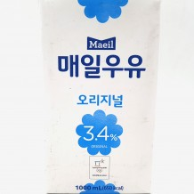 매일유업 흰우유(1L 멸균)