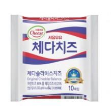 서울우유 체다슬라이스치즈 (20g*10매)