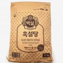 백설 흑설탕(15Kg)