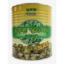 늘푸른식품 할라피뇨 고추피클(3Kg 중국)