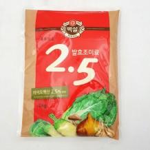 백설 발효조미료 2.5 (고복합 1Kg)