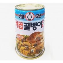 펭귄 배꼽 골뱅이캔(400g)