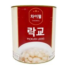 차이웰 락교 캔(SS 3Kg 중국)